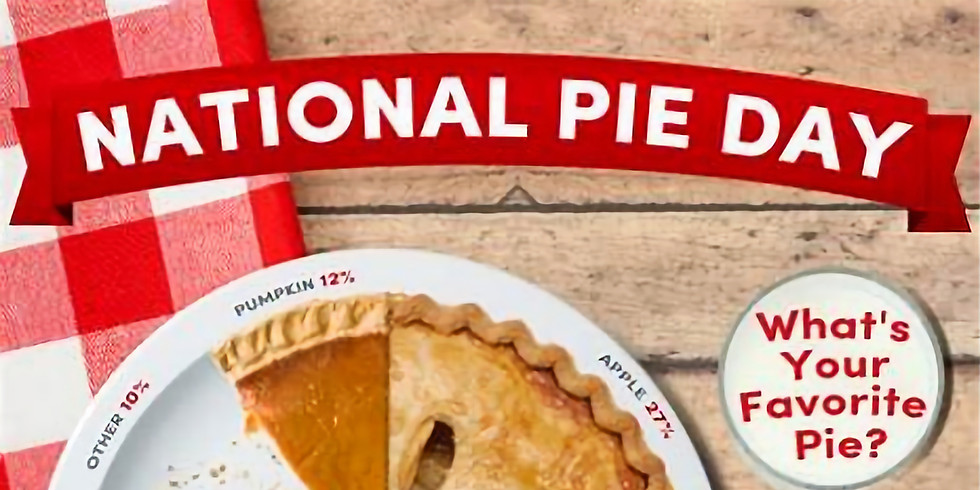 National Pie day at The Pumping Station