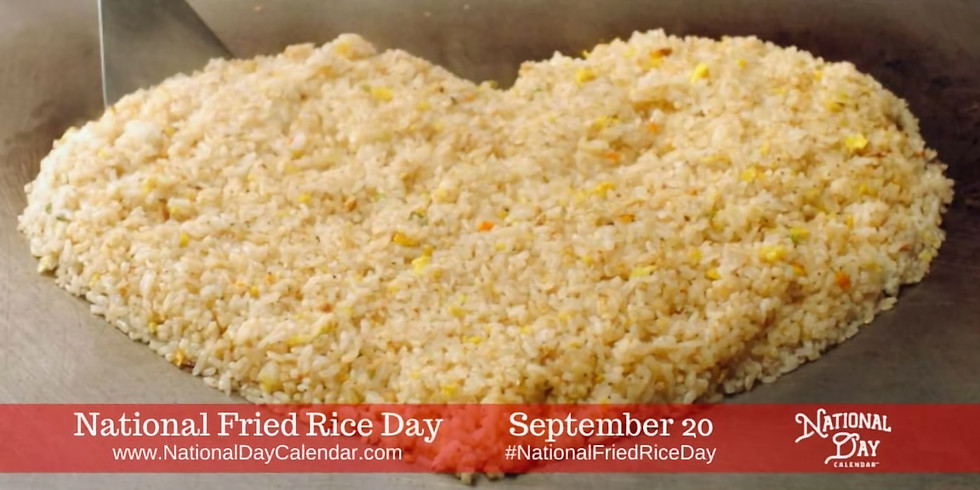 National rice day at The Pumping Station