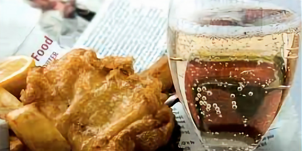 Fish chips & Prosecco ! Live music with Rehab free entry