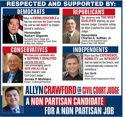 Democrats, Republicans, Conservatives, Independents for Allyn Crawford