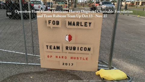 (Hurricane Harvey Oct.13 - Nov. 27) Dogwood Charitable Foundation and Team Rubicon Team Up