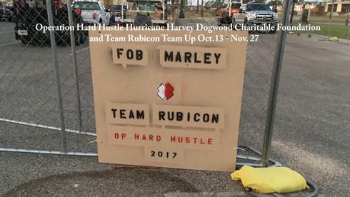 (Hurricane Harvey Oct.13 - Nov. 27) Dogwood Charitable Foundation and Team Rubicon Team Up
