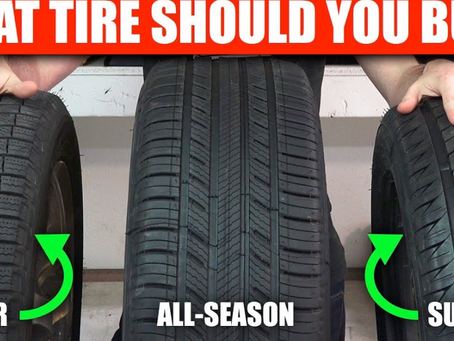 Do You Know the 4 Different Types of Tires?