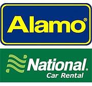 alamo and national car rental logo