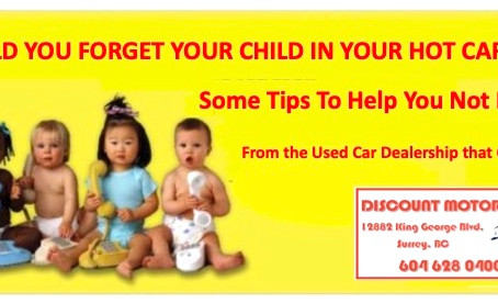 DON'T LEAVE YOUR CHILD IN A HOT CAR