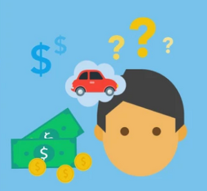 questioning what a car will cost.
