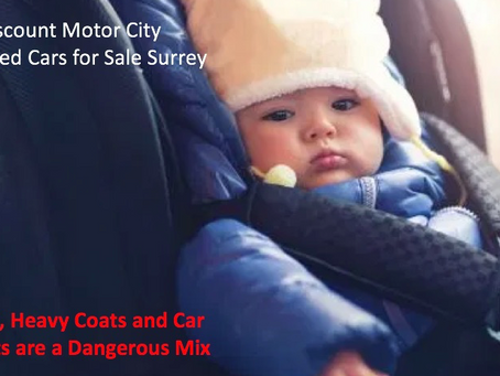 Discount Motor City: Danger of Winter Coats with Car Seats