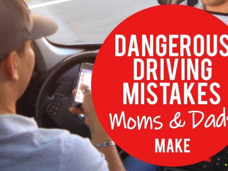 Mistakes in the Car Mom & Dads Make