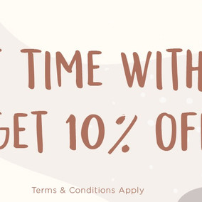 10% OFF Grooming Services