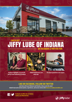 Jiffy Lube Of Indiana - Sales Flyer