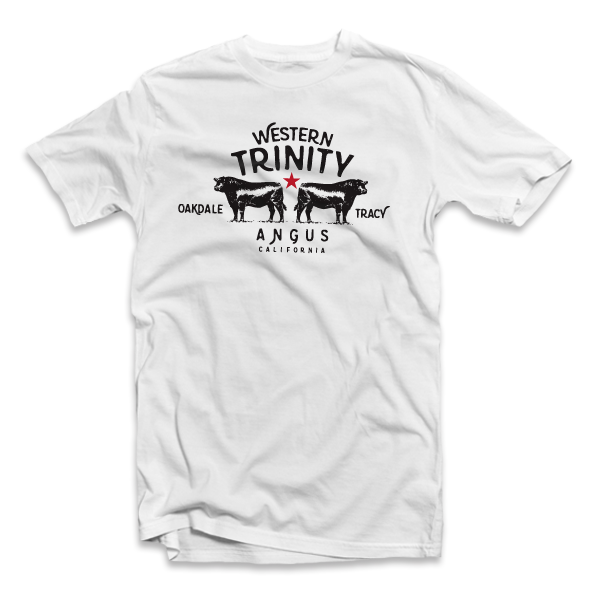 Western Trinity Angus - Logo Tee