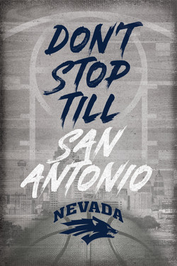 Nevada - Don't Stop Signage