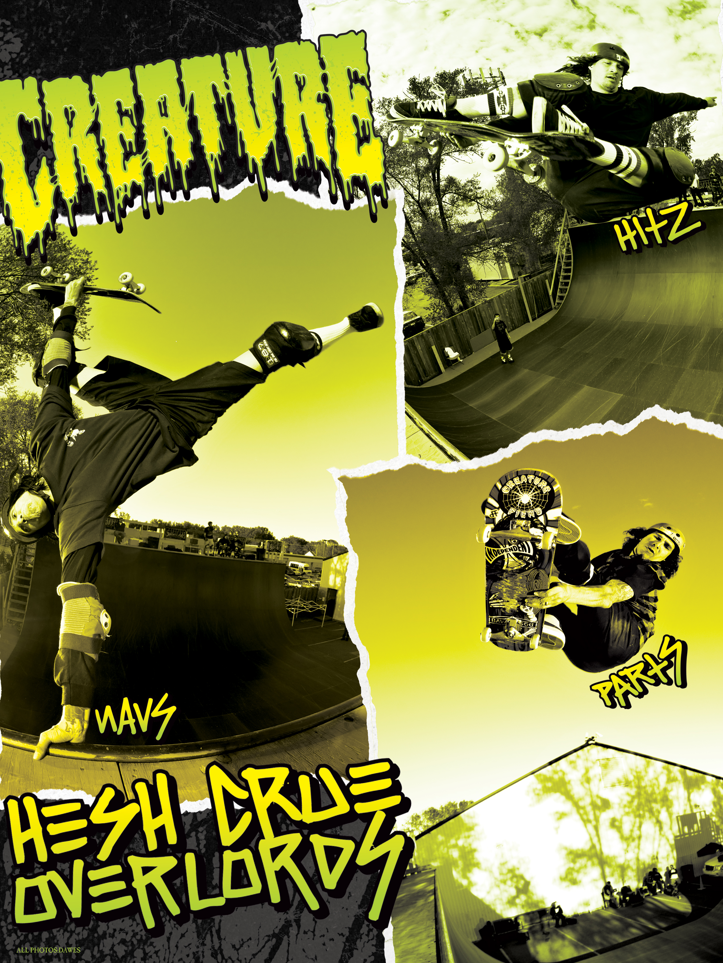 CREATURE SKATEBOARDS - HESH CRUE