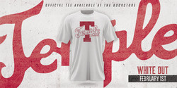 Temple University -White Out Twitter