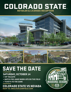 Colorado State - Save The Date Flyer