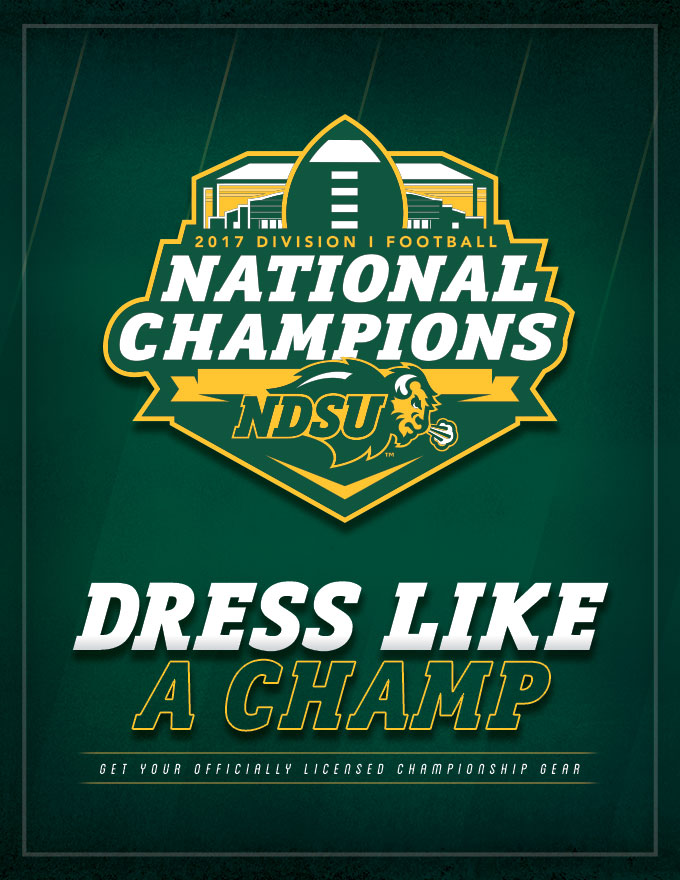 NDSU - Dress Like A Champ Social