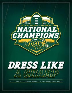 NDSU - Dress Like A Champ Social