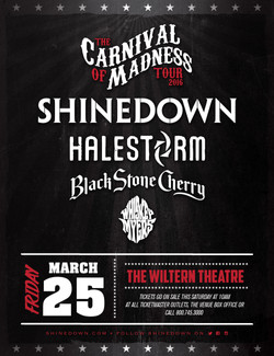 THE CARNIVAL OF MADNESS TOUR 2016