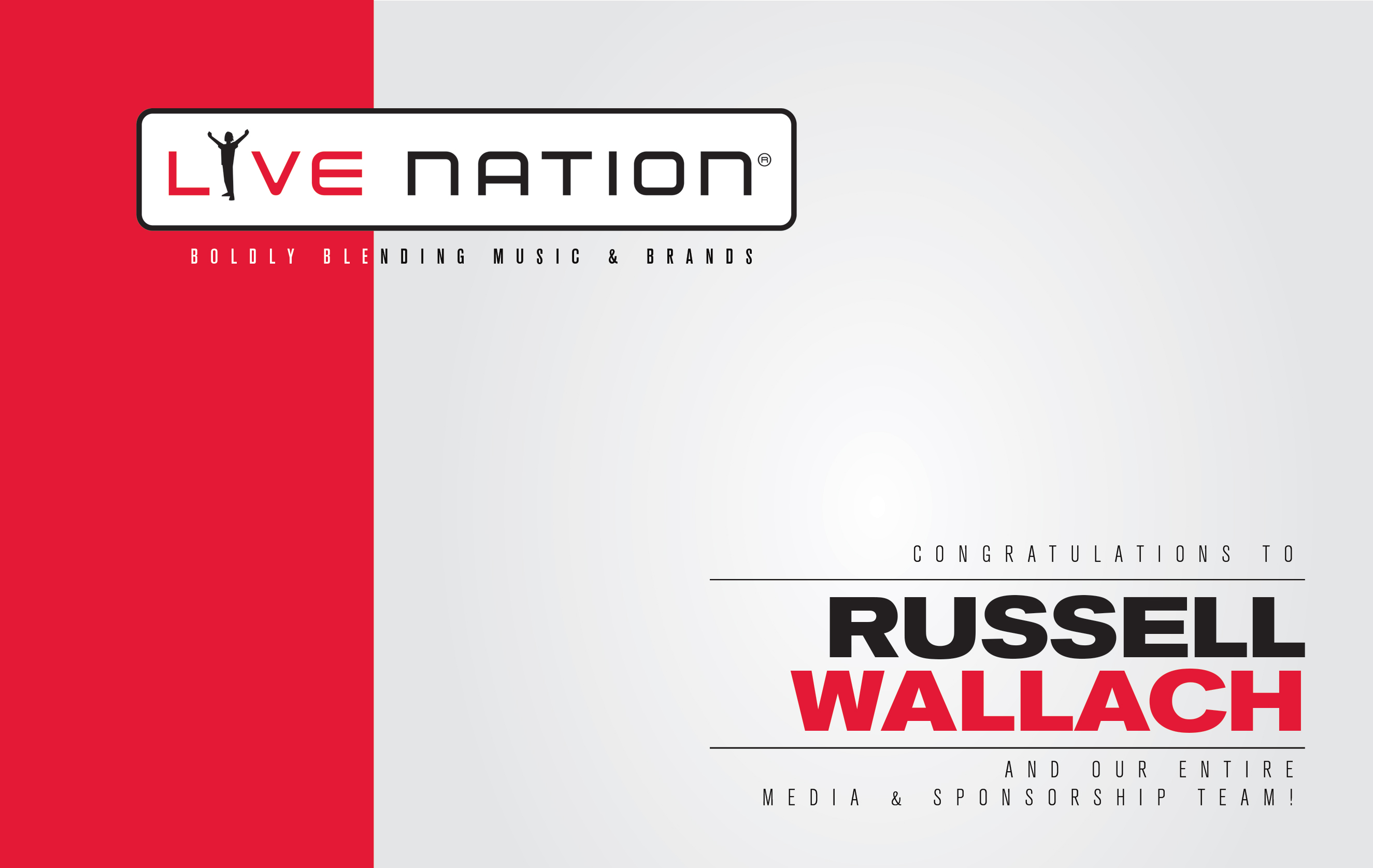 LIVE NATION RUSSELL WALLACH