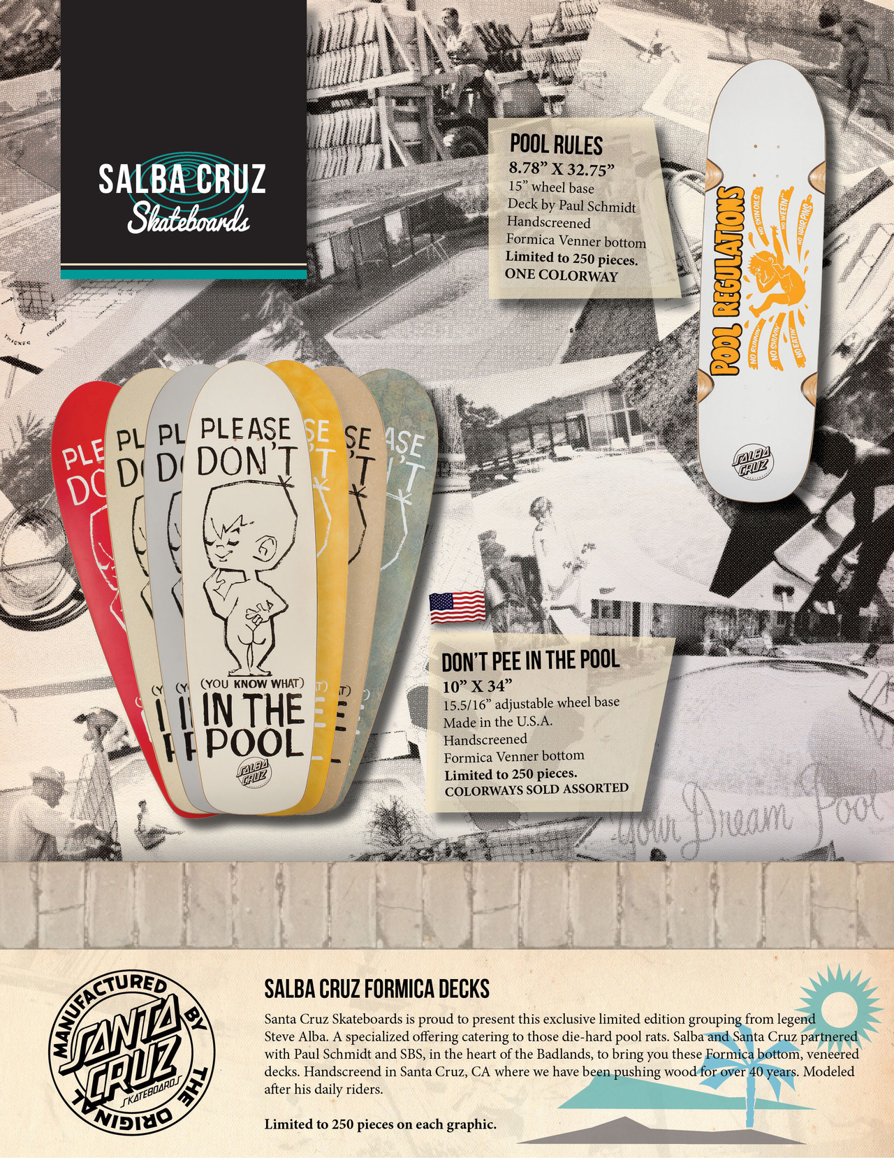SANTA CRUZ SKATEBOARDS - SALBA CRUZ