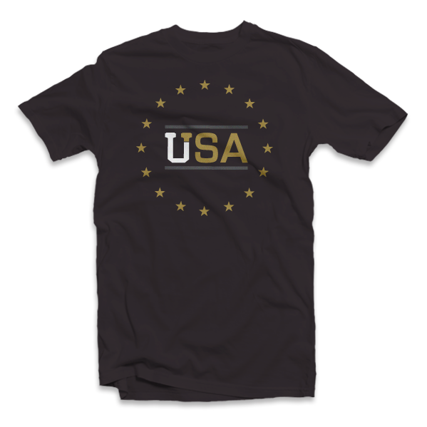 Uptop Clothing Co. - U.S. Pride Tee