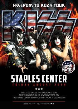 KISS FREEDOM TO ROCK TOUR