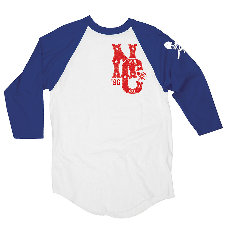 Nor Cal Clothing Co. - Miner Raglan