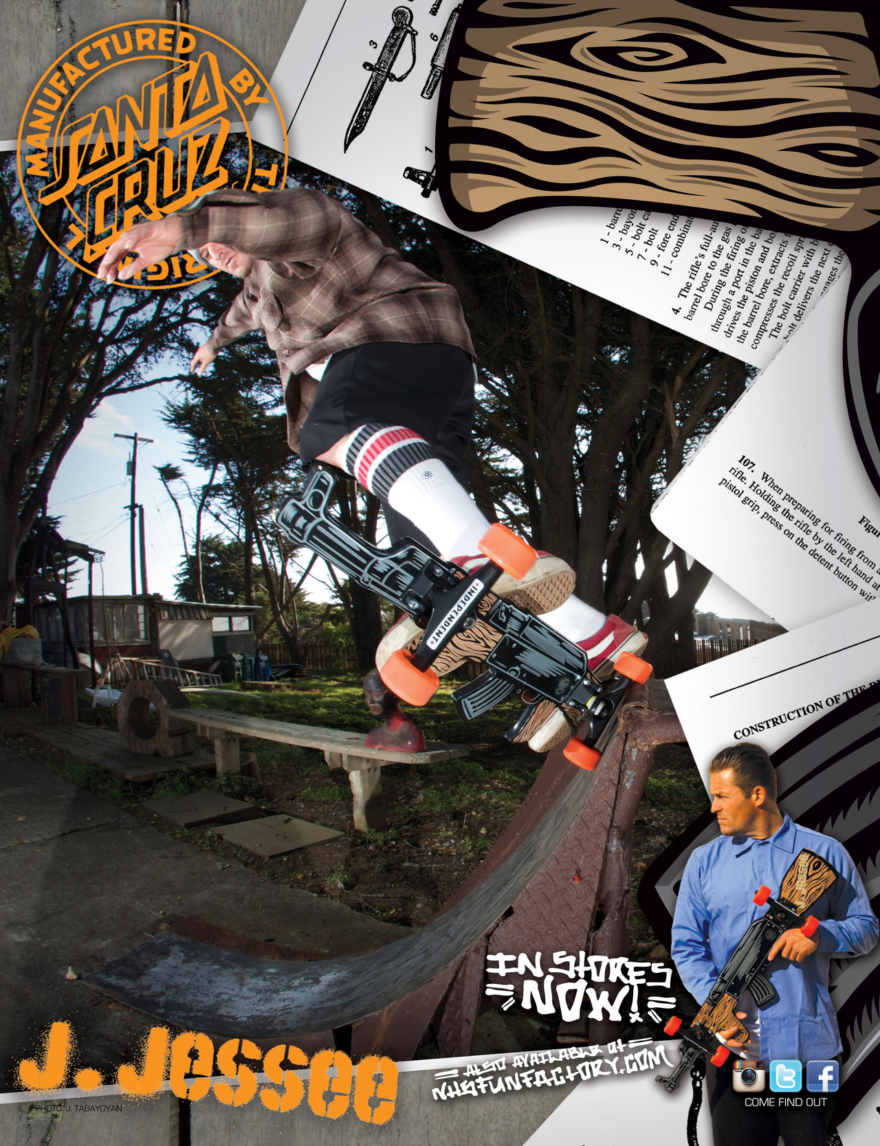 SANTA CRUZ SKATEBOARDS - JASON JESSE