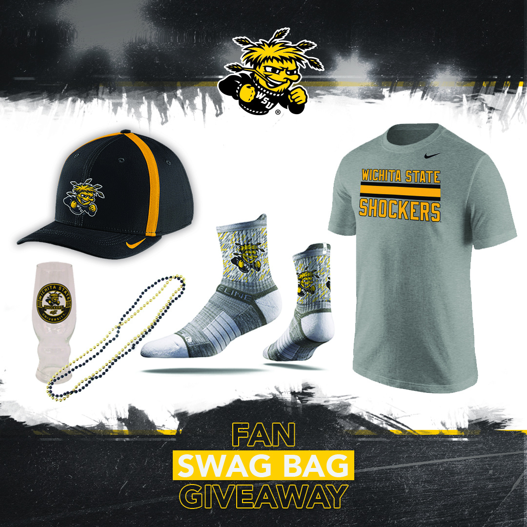 Wichita State -Fan Swag Bag Giveaway