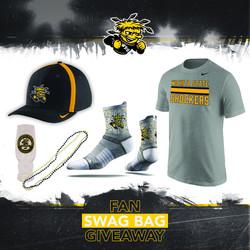 Wichita State -Fan Swag Bag Giveaway