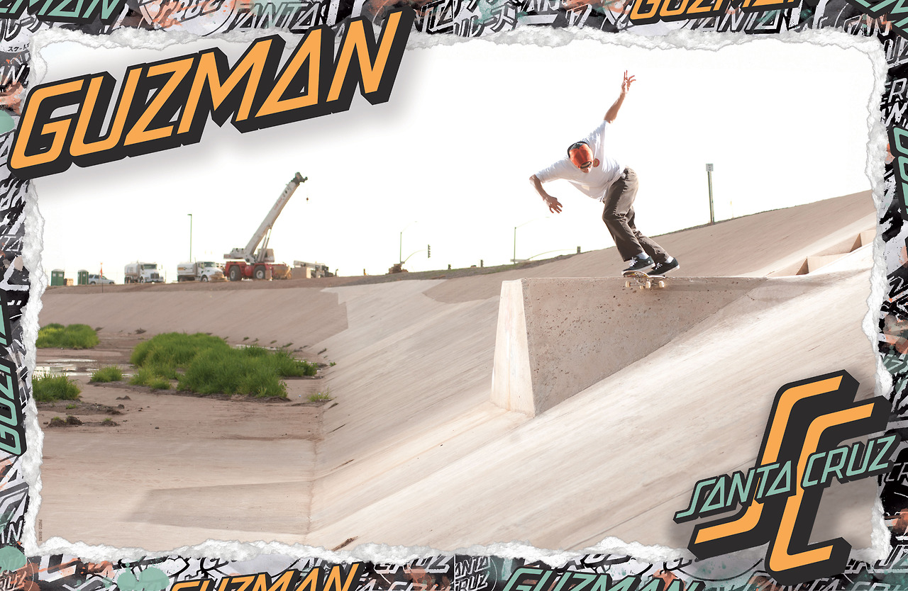 SANTA CRUZ SKATEBOARDS -GUZMAN DITCH