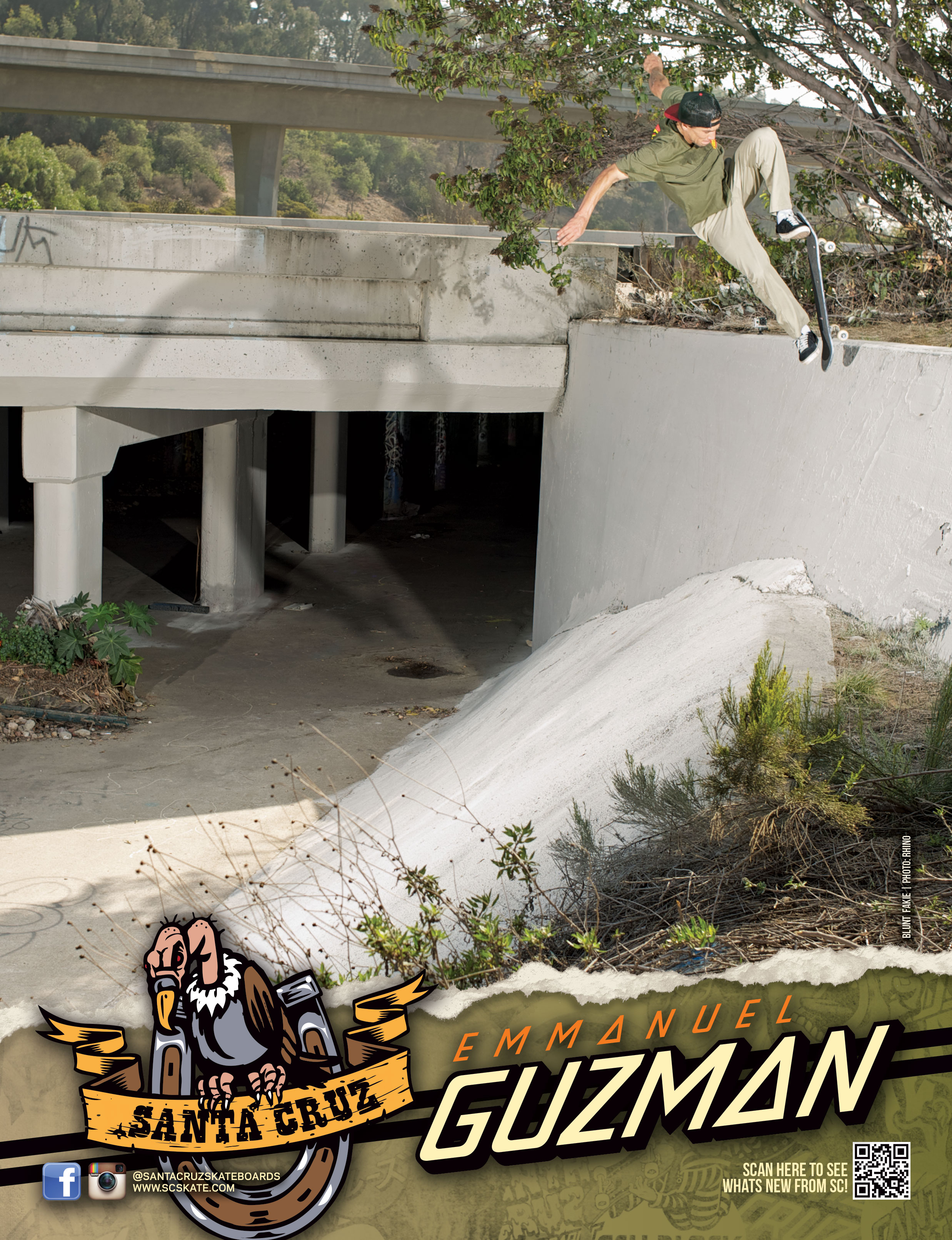 SANTA CRUZ SKATEBOARDS - GUZMAN