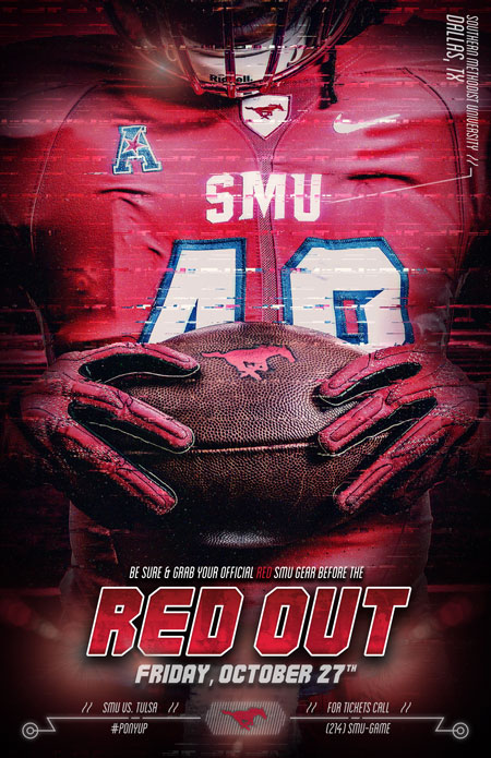 SMU - Red Out Poster