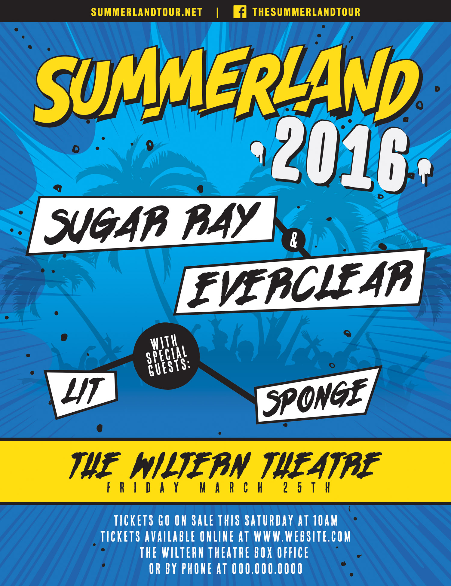 SUMMERLAND TOUR 2016