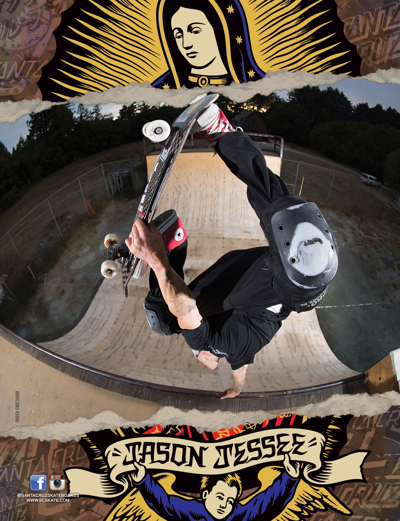 SANTA CRUZ SKATEBOARDS - J. JESSEE