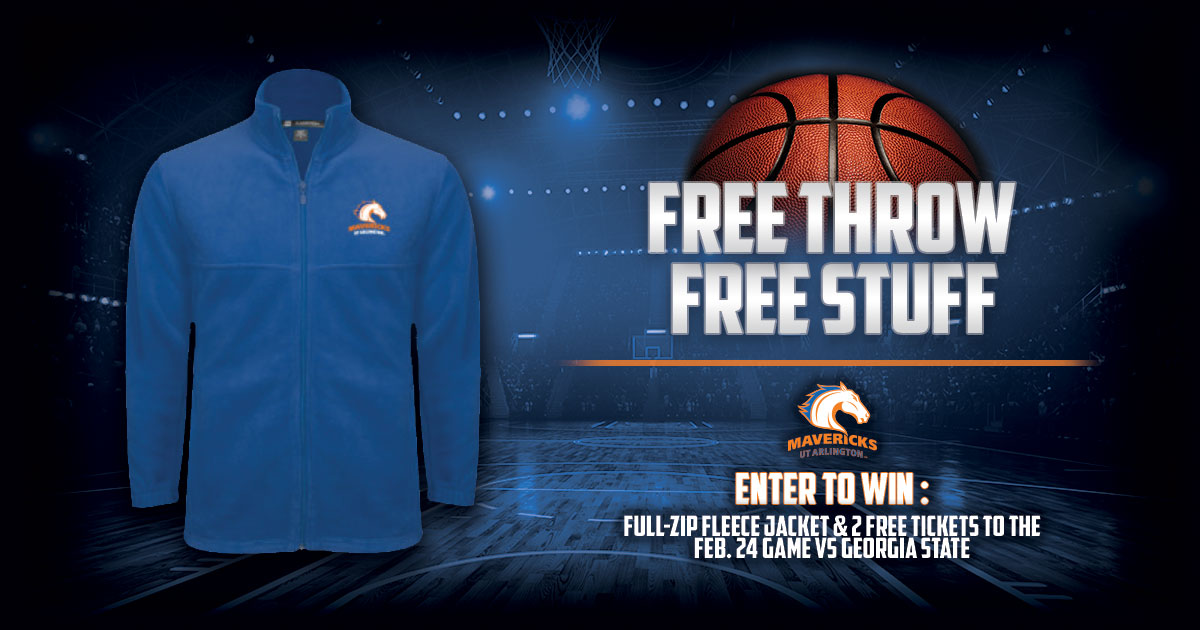 UT Arlington - Free Throw Free Stuff