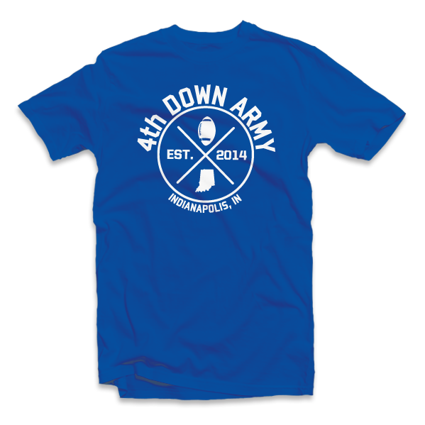 Fourth Down Army - Logo Tee