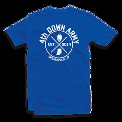 Fourth Down Army - Logo Tee