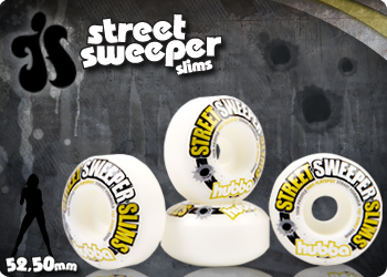 Hubba Wheels - Street Sweeper Banner