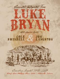 Luke Bryan - Ruoff Poster 2019