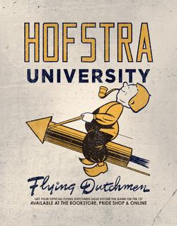 Hofstra - Flying Dutchmen Signage
