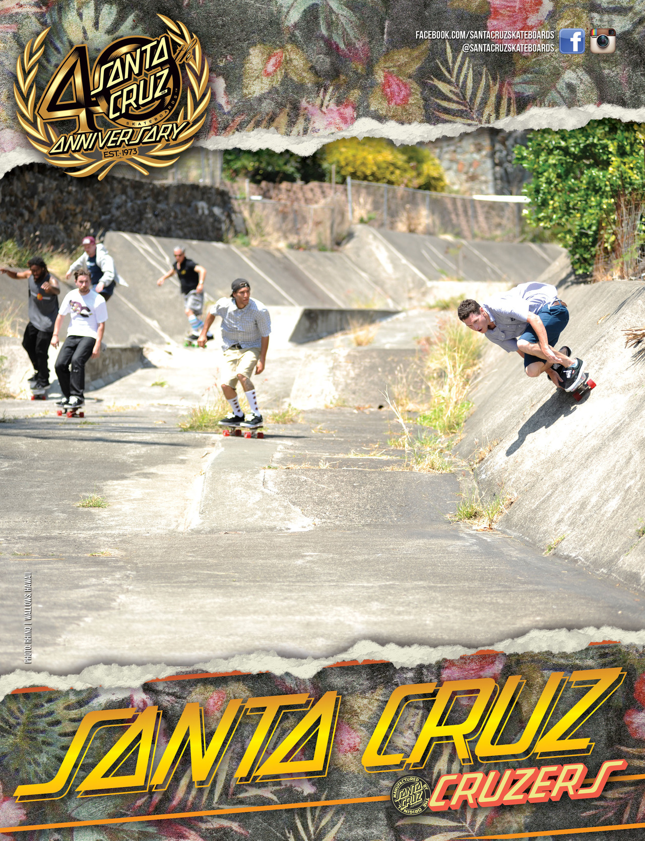 SANTA CRUZ SKATEBOARDS - WALLOWS