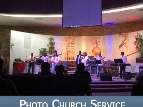 PHOTO CHURCH SERVICE