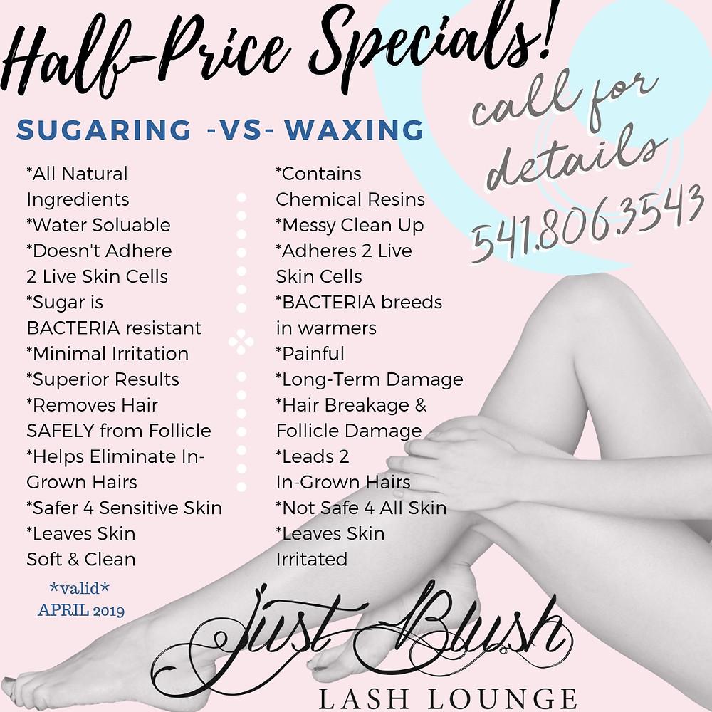 Just Blush Lash Lounge Beauty Bar Specials