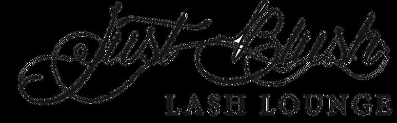 Just Blush Lash Lounge LOGO Updated