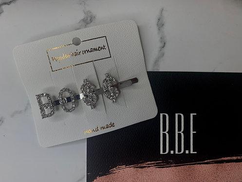 """BO$$"" blinged our hair pin"