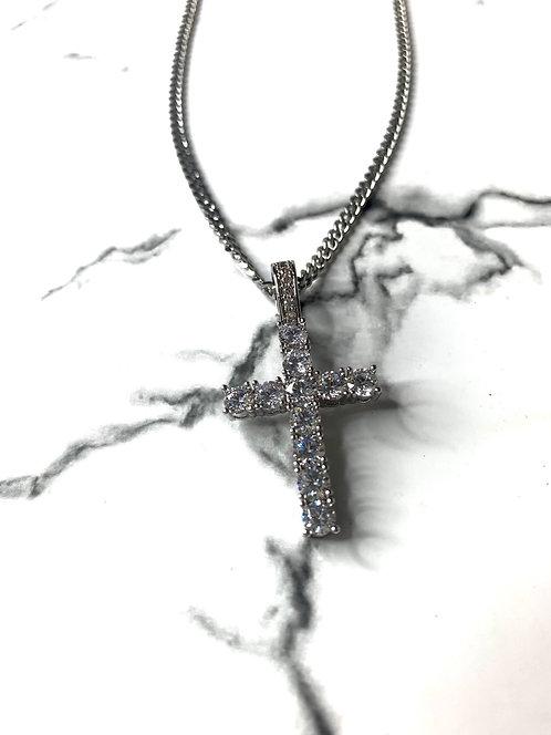 'Diamond Cross' Necklace