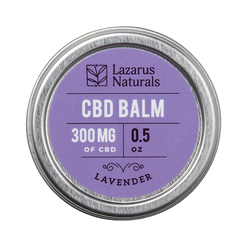 Lavender Full Spectrum CBD Balm 300mg
