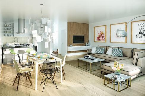 Wohnzimmer mit Blick in die Küche.jpg