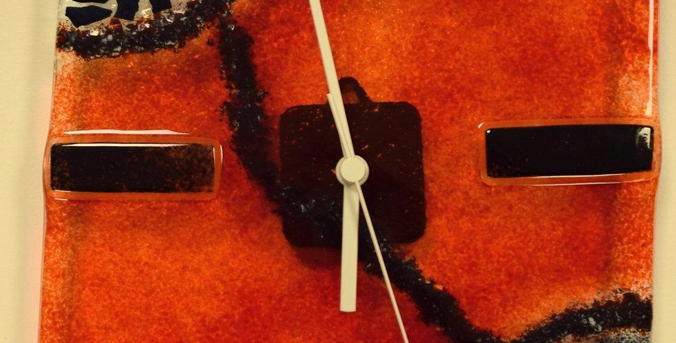 Horloge Rouge & Noir